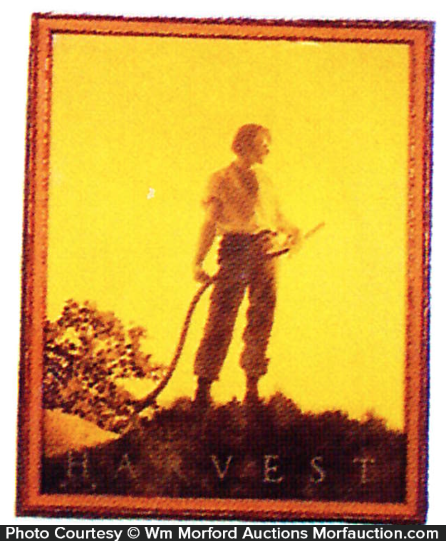 Maxfield Parrish Harvest Cover
