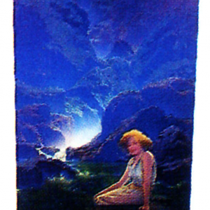 Maxfield Parrish Moonlight Image