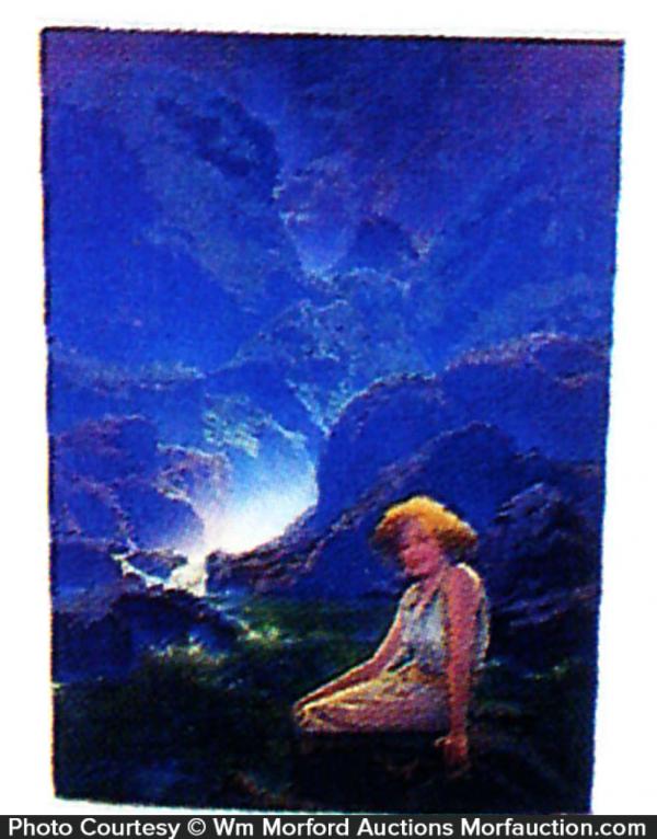 Maxfield Parrish Moonlight Image