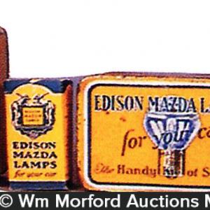 Edison Mazda Lamps Tins