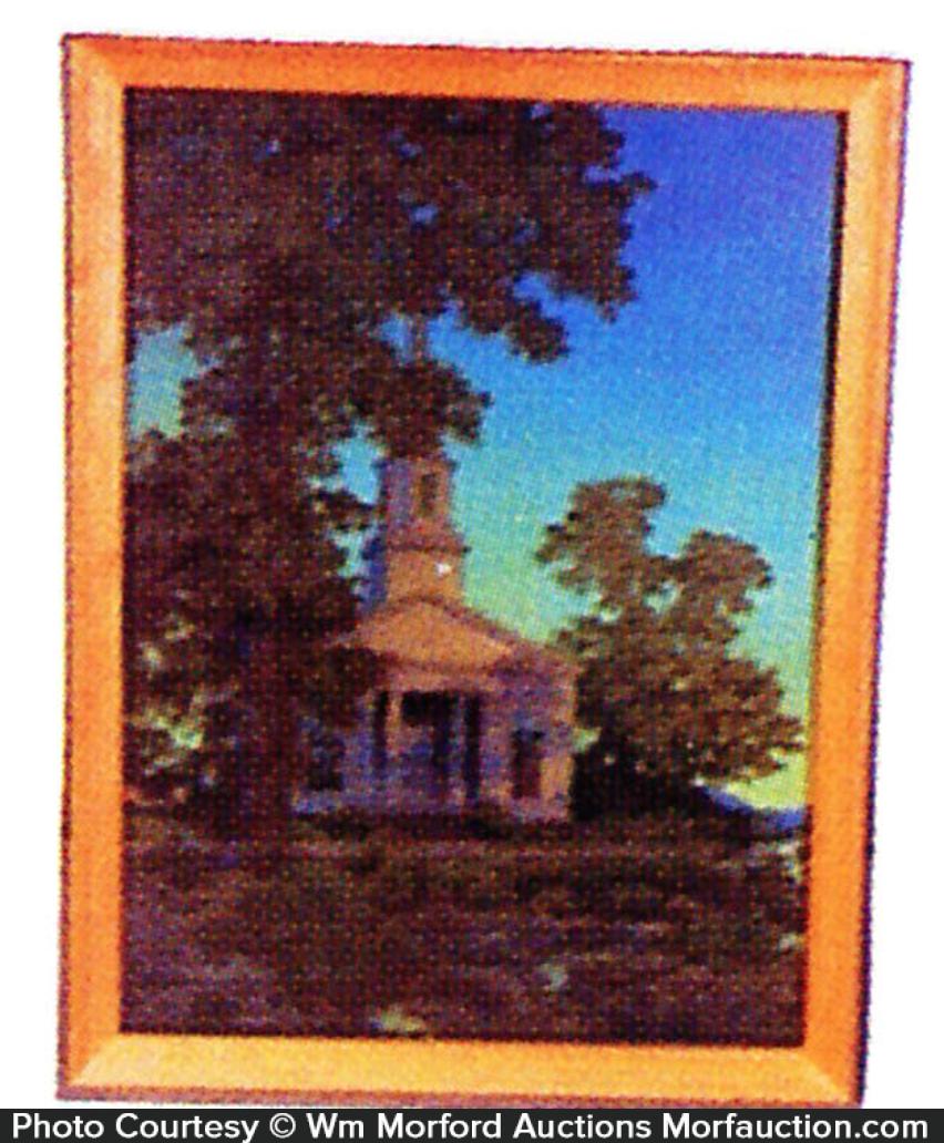 Maxfield Parrish Village Church Image