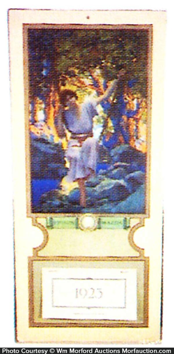 Maxfield Parrish Dream Light Calendar
