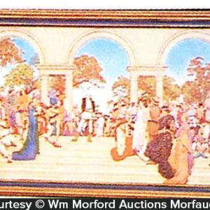 Maxfield Parrish A Florentine Fete Image