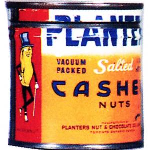 Planters Cashews Tin