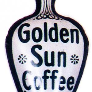 Golden Sun Coffee Scoop