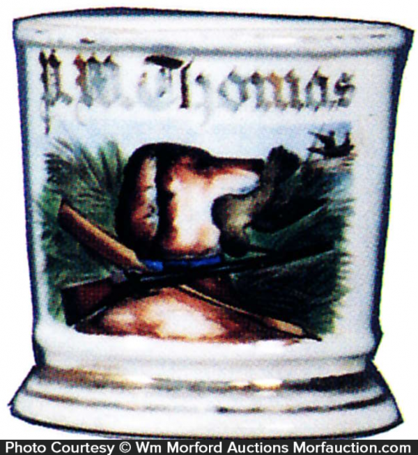 Hunting Dog Shaving Mug