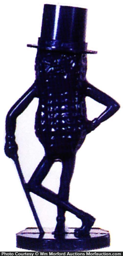 Dark Blue Mr. Peanut Bank