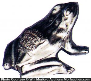 Garland Stoves Frog Match Holder