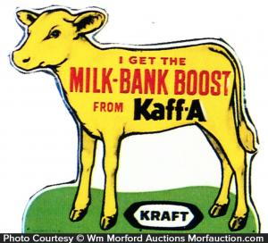Kraft Kaff-A Calf Sign