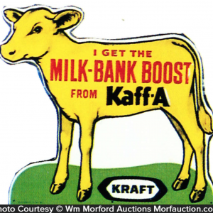 Kraft Kaff-A Calf Sign