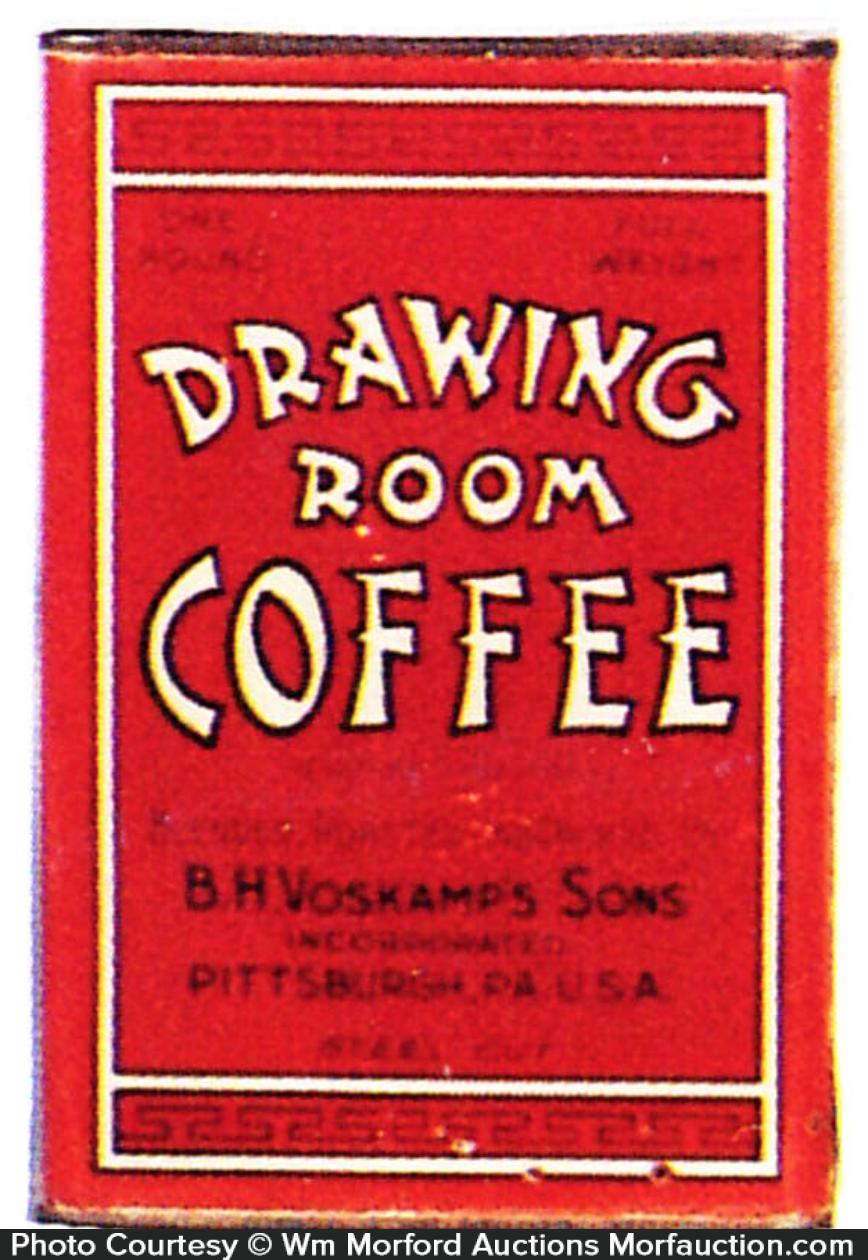 Drawing Room Coffee Tin