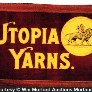 Utopia Yarn Sign