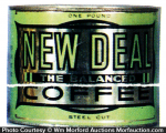 New Deal Coffee Can
