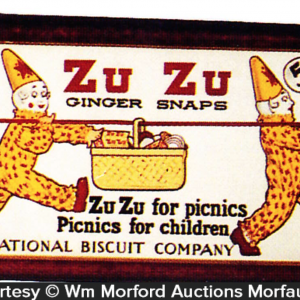 Zu Zu Ginger Snaps Trolley Sign