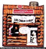 Towle's Log Cabin Syrup Tin