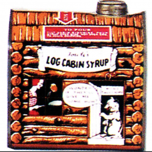 Towle's Log Cabin Syrup Tin