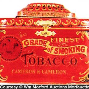 Cameron & Cameron Finest Grade Tobacco Tin