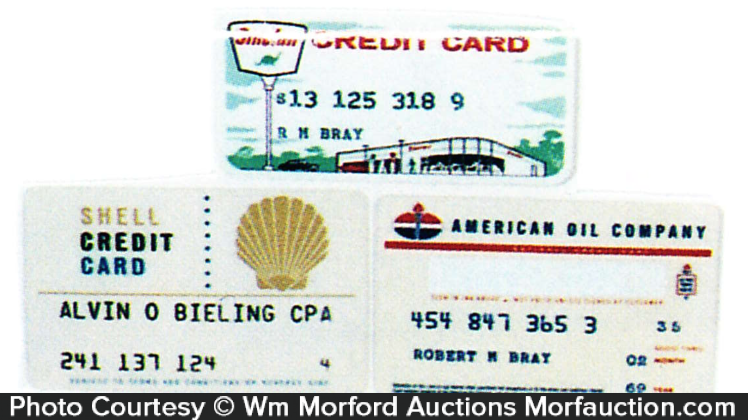 Gas Station Credit Cards Antique Advertising