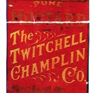 Twitchell Champlin Spine Bin