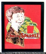 Cherry Sparkle Sign
