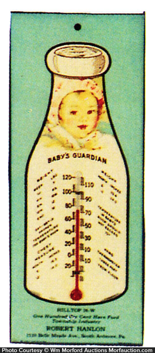 Baby's Guardian Milk Bottle Thermometer