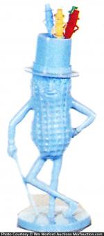 Mr. Peanut Swizzle Stick Holder