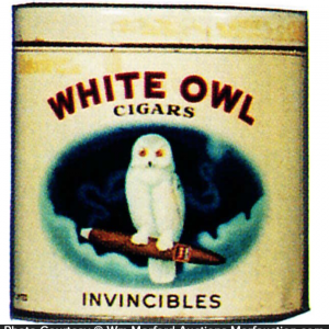 White Owl Invincibles Cigar Can