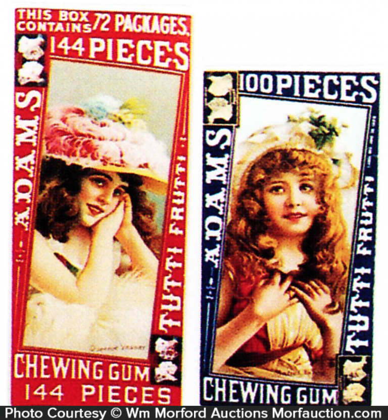 Adams Gum Labels