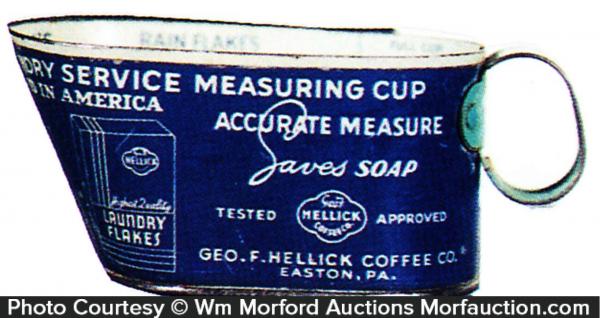 Hellick Soap Laundry Measure