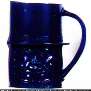 Dark Blue Mr. Peanut Mug