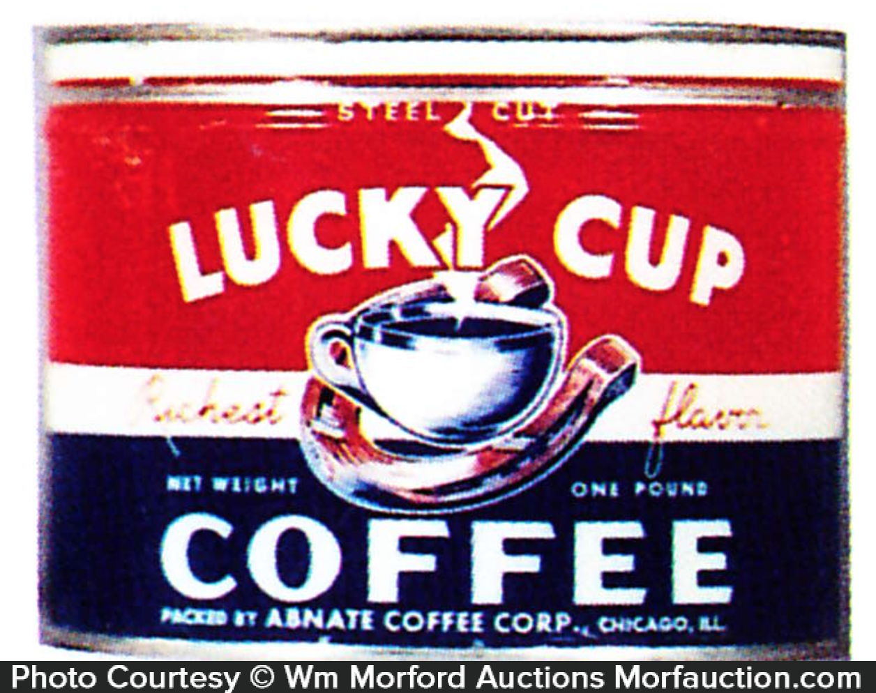 Lucky Cup Coffee Can