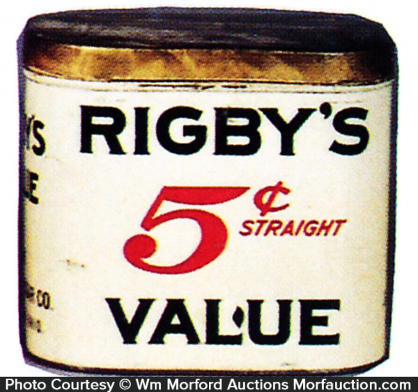 Rigby's Value Cigar Can