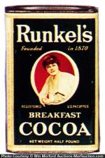 Runkel's Cocoa Tin
