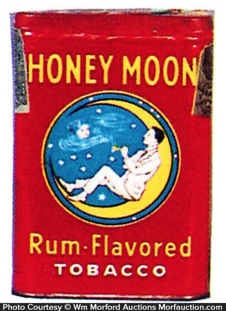 Honey Moon Rum Tobacco Tin