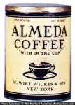 Almeda Coffee Can