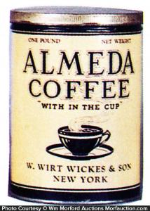 Almeda Coffee Can