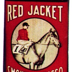 Red Jacket Tobacco Tin