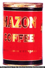 Mazon Coffee Can