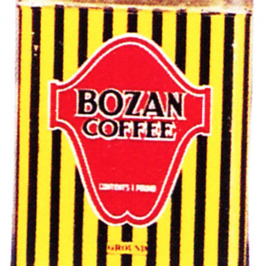 Bozan Coffee Tin
