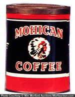 Mohican Coffee Can