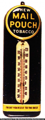 Mail Pouch Tobacco Thermometer