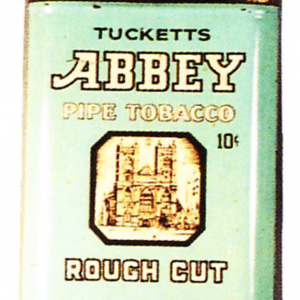 Tucketts Abbey Tobacco Tin