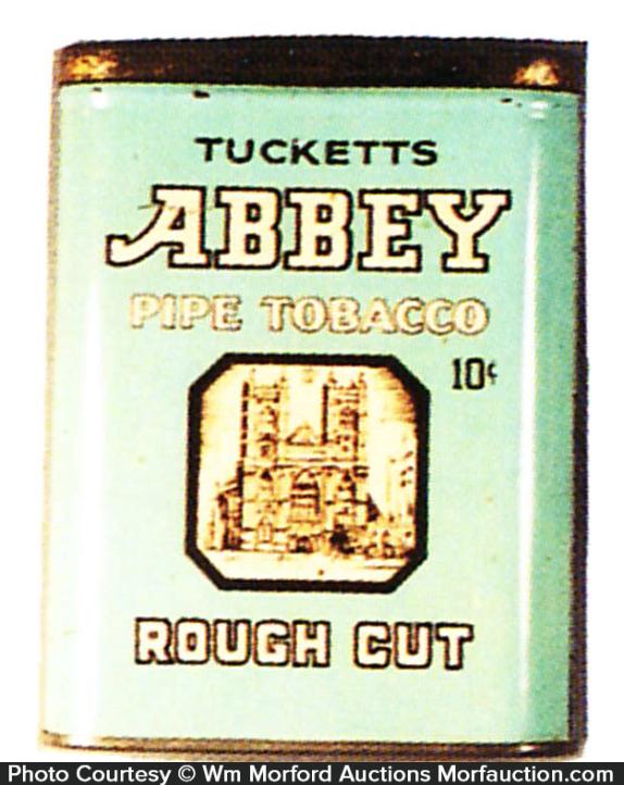 Tucketts Abbey Tobacco Tin