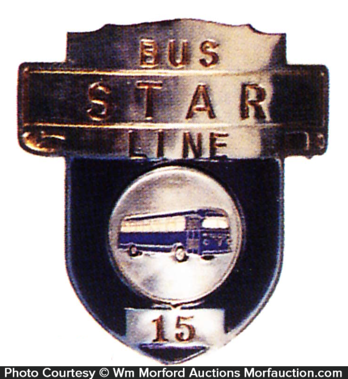 Star Bus Badge