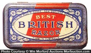 Best British Safety Razor Tin