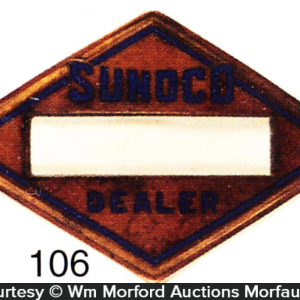 Sunoco Cap Badge