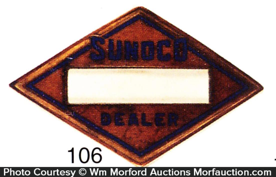 Sunoco Cap Badge