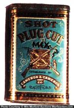 Shot Plug Cut Tobacco Tin