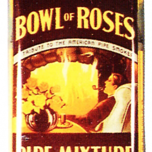 Bowl Of Roses Pipe Mixture Tin