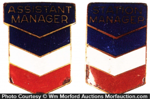 Chevron Manager Badges